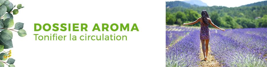 Dossier aromathérapie circulation